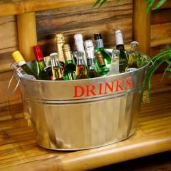 Σαμπανιέρα από Ανοξείδωτο Ατσάλι Drinks 30ltr