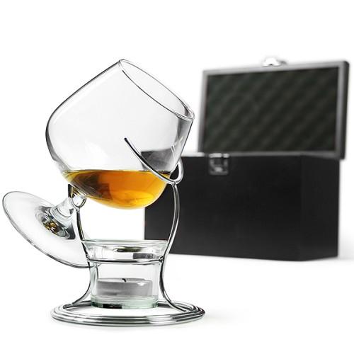 Πολυτελές Cognac & Brandy Warmer Set 400ml ( Πρωτότυπα Ποτήρια )