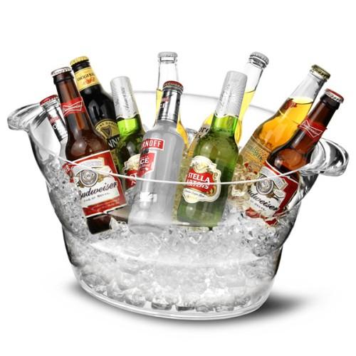 Σαμπανιέρα Ακρυλική Διάφανη 12ltr ( Beer Coolers & Σαμπανιέρες )