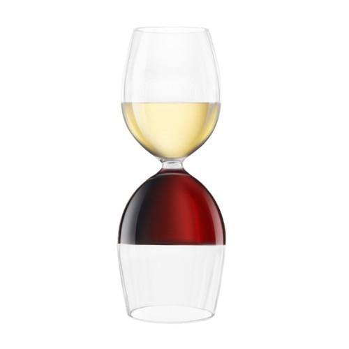 Ποτήρι Κρασιού - Μπουκάλι 750ml ( Πρωτότυπα Ποτήρια )