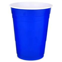 Μπλε Αμερικάνικα Ποτήρια Party 455ml