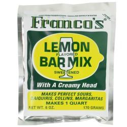 Μείγμα λεμόνι για κοκτέιλ Franco Mix 170g