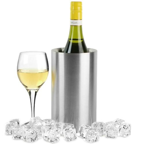 Wine Cooler Σαμπανιέρα Ανοξείδωτη με διπλό τοίχωμα