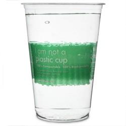Οικολογικό Βιοδιασπώμενο Ποτήρι Μπύρας Tumblrose 200ml - (Πακέτο με 70 τμχ)