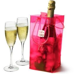 Παγοδοχείο Ice Bag πλαστικό premium ροζ