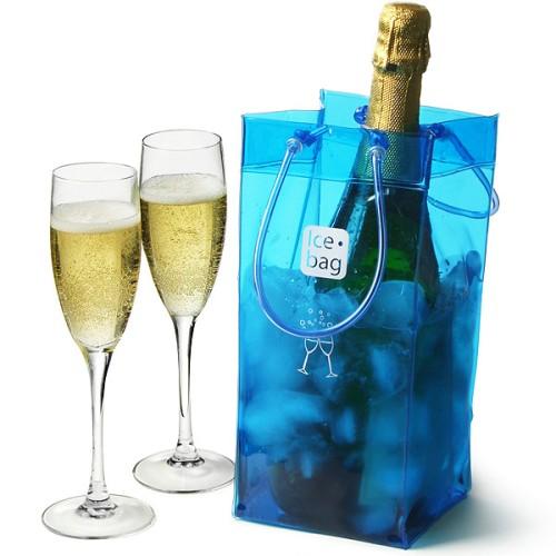 Παγοδοχείο Ice Bag πλαστικό premium μπλε