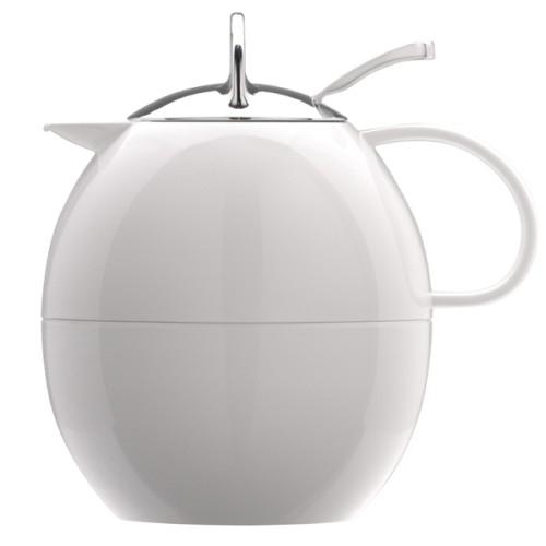 Πολυτελής Κανάτα Θερμιός Elia λευκή πρωτότυπη σε σχήμα αυγού 1ltr