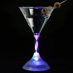 Ποτήρια πολυστυρικά με εναλλαγή επτά χρώματων LED 230ml