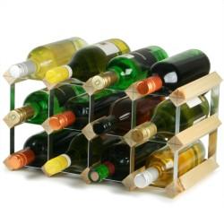 Κάβα 12 Μπουκαλιών Κρασιού Παραδοσιακή Ξύλο Πεύκο