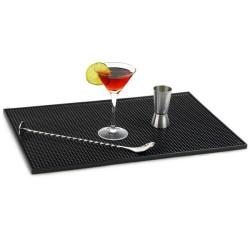 Service Bar Mat Πλαστικός μαύρος δίσκος περισυλλογής διαρροών 30cm x 45cm
