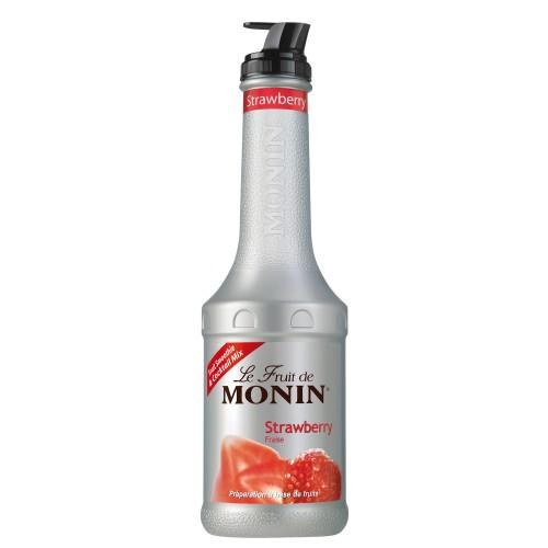 Πουρές Φράουλα Monin 1ltr
