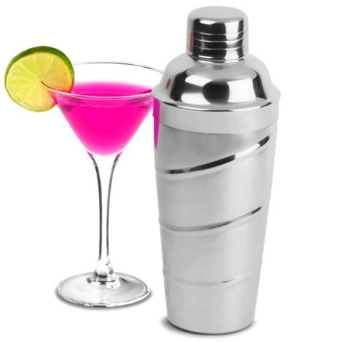 Επαγγελματικό Shaker Swirl από Ανοξείδωτο Ατσάλι 800ml ( Shakers )
