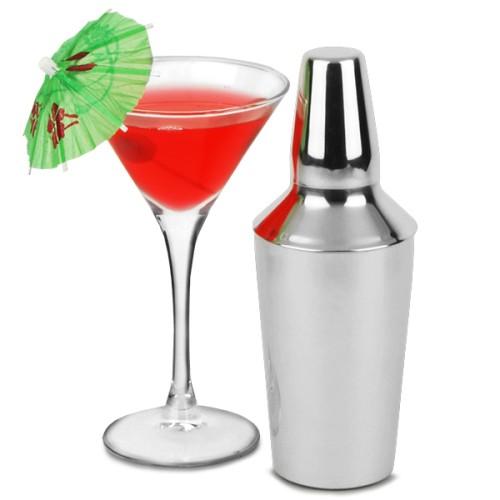 Mini Shaker Manhattan από Ανοξείδωτο Ατσάλι 280ml ( Shakers )
