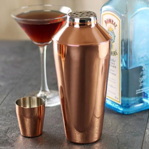 Χάλκινο shaker για cocktail Manhattan 750ml