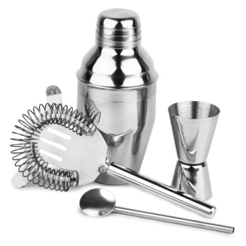 Σετ Cocktail με Shaker από Ανοξείδωτο Ατσάλι 200ml ( Shakers )