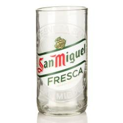 Χειροποίητο Ποτήρι από μπουκάλι μπύρας San Miguel 330ml συσκευασία 2 τμχ