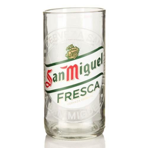Χειροποίητο Ποτήρι από μπουκάλι μπύρας San Miguel 330ml