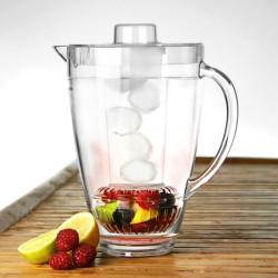Κανάτα με Θήκη για Πάγο και Φρούτα 2ltr